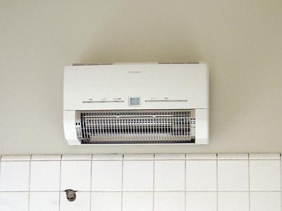 山梨県甲府市S様邸 浴室リフォーム浴室暖房器取り付け完了。