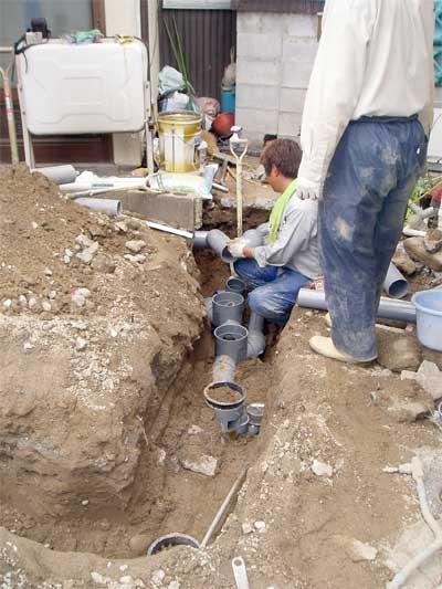 山梨県甲府市 下水道工事