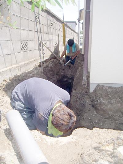 下水道工事 配管布設