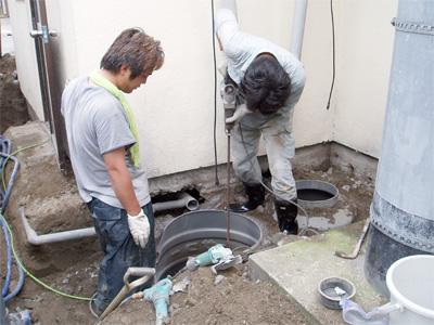 甲府市 下水道工事
