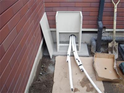 ヒートポンプ式床暖房エコヌクール用温水配管