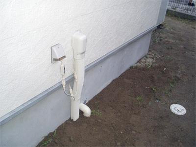 エコキュート風呂配管