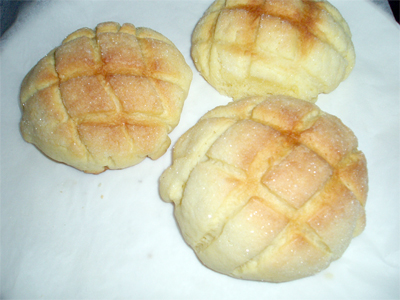 自家製メロンパン