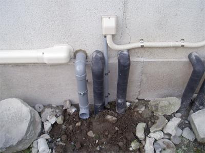 エコキュート 配管