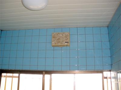 山梨県甲府市で浴室換気乾燥暖房機取付
