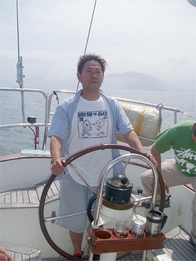 ヨットの操船