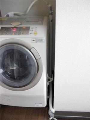 洗濯機の納まり